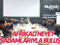 Afrikalı Heyet, Müsiad Konya Şubesi'nde İşadamlarıyla Buluştu