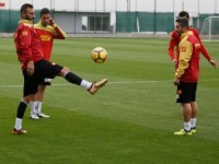 Göztepe, Kasımpaşa maçı hazırlıklarına başladı