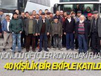 İnönülü Çiftçiler Konya'daki Fuara 40 Kişilik Bir Ekiple Katıldı