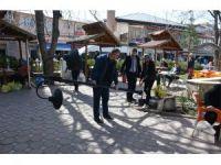 Suşehri'ndeki aile çay bahçesi yenileniyor