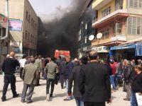 Yangında dumandan etkilenen 2 kişi hastaneye kaldırıldı