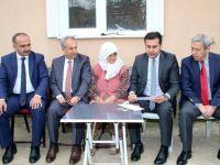 Akşehirli Fadime Nineye Cumhurbaşkanından özel ıslak imzalı mektup