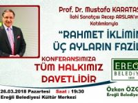 Başkan Özgüven'den konferansa davet