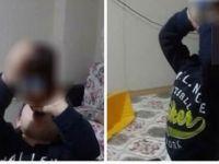 3 yaşındaki oğluna içki içirdi! Bu nasıl aile?