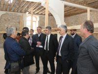Bozkır'da tarihi cami restore ediliyor