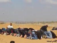 İşgalci İsrail askerleri Filistinli genci namaz kılarken vurdu/VİDEO...