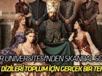 ''Türk dizileri toplum için gerçek bir tehdit''