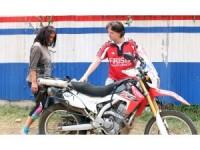 Gezgin çift Afrika'da 32 ülkeyi motosikletle dolaştı