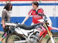 Gezgin çift 32 ülkeyi motosikletle dolaştı