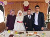 Fatmanur ile Mehmet Baki evlendi