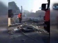 İşte Suriye'de vurulan o tesis! / VİDEO