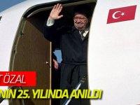 Turgut Özal vefatının 25. yılında anıldı