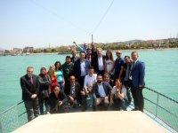 Konya basını, Beyşehir'i gezdi