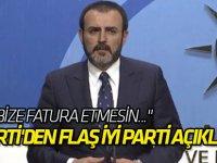 AK Parti'den flaş İYİ Parti açıklaması!