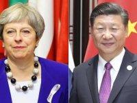 İngiltere Başbakanı May, Çin Devlet Başkanı Şi ile telefonda görüştü