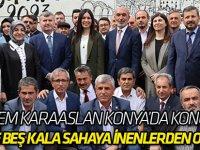 """""""Seçime beş kala sahaya inenlerden olmadık"""""""