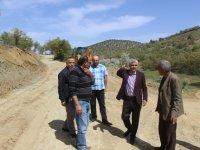 Bozkır'da yollar tamamlandı