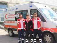 Küçükçalık Ambulans daima hazır