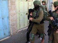 İsrail 19 Filistinliyi gözaltına aldı