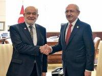 Kılıçdaroğlu ile Karamollaoğlu görüşüyor!