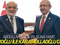 Kılıçdaroğlu ile Karamollaoğlu görüştü!