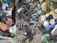 Tunceli'de terör örgütü PKK'ya ait 9 sığınak imha edildi