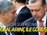 Erdoğan, bu akşam Beştepe'de Arınç ile görüşecek