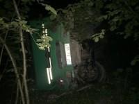 Devrilen kamyonun sürücüsü ağır yaralandı