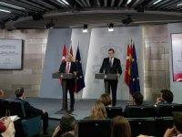 Yıldırım-Rajoy ortak basın toplantısı