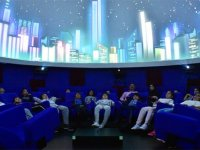 Türkiye'nin ilk gerçek 4K çözünürlüklü planetaryumu ziyaretçilerini ağırlıyor