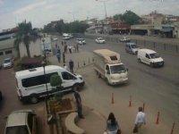 Kadın hırsızı kadınlar evire çevire dövdü