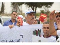 İsrail'in gazetecilere yönelik ihlalleri protesto edildi