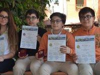 Ortaokul öğrencilerinden uluslararası yarışmada 3 birincilik