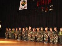 HAGEV'li minikler yıl sonu gösterisi düzenledi