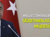 Milli Eğitim Bakanı: Bu Yıl 25 Bin Öğretmeni Eğitim Ailesiyle Buluşturacağız