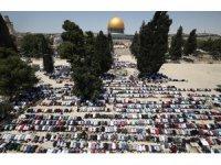 Mescid-i Aksa'da ramazan ayının son cuması