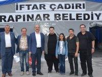 İstanbul Meydan Sahnesi sanatçıları Karapınar'da