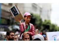 """Fas'ta """"Büyük Dönüş Yürüyüşü""""ne destek gösterisi"""