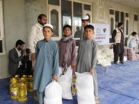 İHH'den Afganistan'da ramazan yardımı