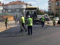 Belediye asfalt çalışmalarına start verdi