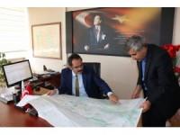 İl Özel İdaresi Genel Sekreteri Kaya, birimleri ziyaret etti