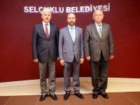 Gürsoy'dan  Başkan Pekyatırmacı'ya hayırlı olsun ziyareti