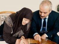 Ayşe nine ilk mektubunu Afrin'deki Mehmetçik'e yazdı