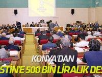 Konya'dan Filistin'e 500 bin liralık destek