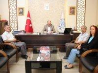 Okul idarecilerinden Özaltun'a teşekkür ziyareti