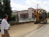 Alaylar 1 mahallesinde asfalt çalışmaları başladı