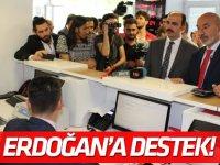 Konya'dan Erdoğan'a destek