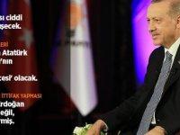 Cumhurbaşkanı Erdoğan TRT canlı yayınında gündemdeki konuları değerlendirdi
