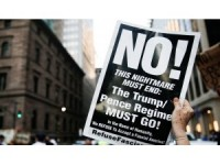 New York'ta Trump'a protesto
