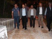 Beyşehir'de gece mesaisi